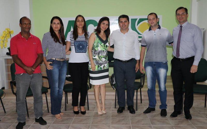 Diretores da ACIC se reúnem com Deputado Federal Marcos Rogério para traçar parcerias